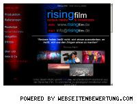 Ranking Webseite risingfilm.de