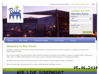 Informationen zur Webseite ritz-reisen.de