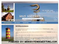 Ranking Webseite rollstuhl-ferienhaus-greetsiel.de