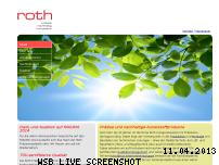 Ranking Webseite roth-praezisionsplastik.de