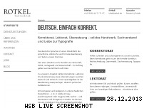 Ranking Webseite rotkel.de