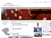 Ranking Webseite saint-gobain.de