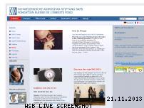 Ranking Webseite saps.ch