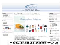 Ranking Webseite saraco.ch