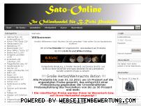 Ranking Webseite sato-online.de