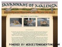 Ranking Webseite savannahs-of-malenga.de