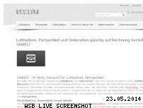 Informationen zur Webseite sawelt.de