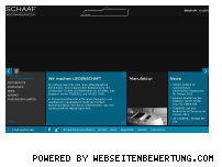 Ranking Webseite schaaf-boats.com