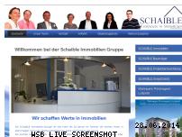 Ranking Webseite schaible-immobilien.de