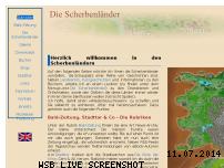 Informationen zur Webseite scherbenlaender.de