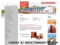 Ranking Webseite scherrer-online.de