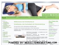 Informationen zur Webseite schlafweise.at
