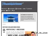 Informationen zur Webseite schlagerstadt.de