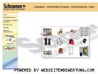 Ranking Webseite schrammshop.de