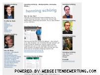 Ranking Webseite schuerig.org