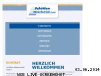 Ranking Webseite schuetten-malerbetrieb.de