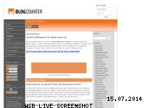 Ranking Webseite schwanzvergleich.blogcounter.de