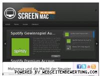 Ranking Webseite screenmac.de
