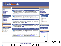 Ranking Webseite scriptindex.de