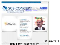 Ranking Webseite scs-concept.de