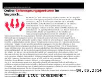 Informationen zur Webseite seitensprung.singelboersen-test.de