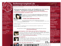 Informationen zur Webseite seitensprungtest.de