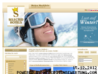 Ranking Webseite selectedhotels.it