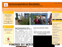 Informationen zur Webseite seniorenassistenz-wandsbek.de