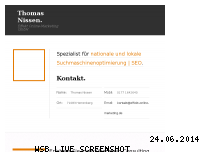 Ranking Webseite seo-webpromotion.de