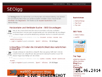 Ranking Webseite seoigg.de
