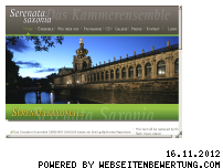 Ranking Webseite serenata-saxonia.de