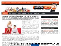 Ranking Webseite server.handy-netz24.de