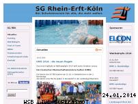 Ranking Webseite sg-rhein-erft-koeln.de