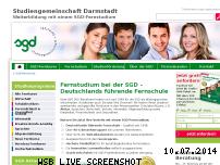 Ranking Webseite sgd.de