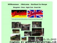 Ranking Webseite shakatak-kenya.com