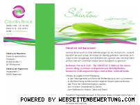 Ranking Webseite shiatsu-spa.de