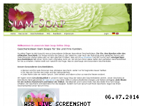 Informationen zur Webseite siam-soap.de