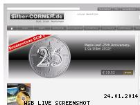 Ranking Webseite silber-corner.de
