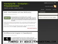 Ranking Webseite sim-sim.de