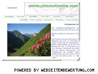 Informationen zur Webseite simmshuette.com
