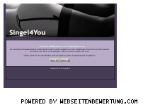 Ranking Webseite singel4you.com