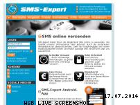 Ranking Webseite sms-expert.de