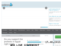 Ranking Webseite sodene.com
