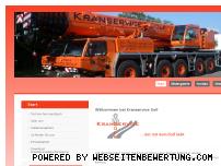 Ranking Webseite solfkranservice.de