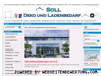 Ranking Webseite soll-ladenbedarf.de