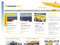Ranking Webseite sonnenschirm-versand.de