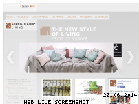 Ranking Webseite sophisticated-living.de