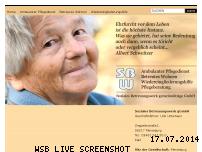 Informationen zur Webseite soziales-betreuungswerk.de