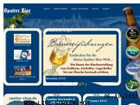 Ranking Webseite spalter-bier.de
