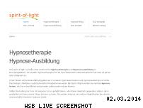 Ranking Webseite spirit-of-light.de